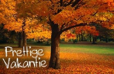 Afbeeldingsresultaat voor herfst vakantie